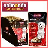 18 x Animonda Hunde Nassfutter Hühnchenfilet & Rindfleisch á 100g