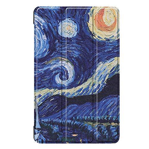 3-Folded Standing Case für Samsung Galaxy Tab A 8,0 Zoll 2019 S-Pen Magnetabdeckung für Samsung Tab SM-P200 SM-P205 Funda Capa - Samsung 8 3 Tab Funda