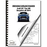 Audi Q7, Typ 4M (15>) Heizung, Lüftung, Klimaanlage - Reparaturanleitung