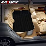 #4: AllExtreme Multifunctional Inflatable Car Mattress for Rest,Traval, Leisure and Entertainment- Car Back Seat Travel Air Inflation Bed Universal SUV Extended Air Couch with Two Air Pillows, Car Air Pump and Repair Kit (Black)