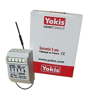 micromodule volet roulant radio pow - yokis mvr500erp