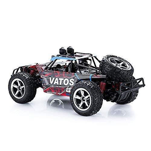 RC Auto kaufen Truggy Bild 2: VATOS Ferngesteuertes Auto RC Auto Off Road High Speed 4WD 40km/h 1:12 Skala 50M Fernbedienung 15 Minuten Spielzeit 2,4GHz Fahrzeug Buggy Truck mit LED-Nachtsicht*