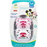 NUK Disney Baby Minnie Mouse Puller Pacifier in Assorted Colors and Styles, 0-6 Months by NUK