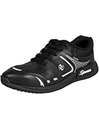 Earton Men Black-755 Sports Running Shoes
