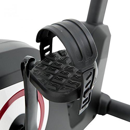 Spirit Upright Bike DBU 20 – Heimtrainer, Fitness Indoor Bike, Ergometer mit Hand-Puls-Sensoren - 8