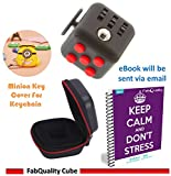 FabQuality Fidget Cube Magicfly Angst Aufmerksamkeit Spielzeug mit Bonus bei eBook enthalten (Englisch) - lindert Stress und Angst und Entspannung für Kinder und Erwachsene hergestellt von Card Kunstverlag
