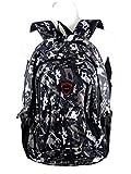 Rucksack Schulrucksack Schultasche mit gepolsterten Schulterriemen, Tragegurt und Rücken - Mädchen und Jungen - tolle