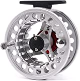 Maxcatch BLC Fly Reel,Fly Reel with Line Large Arbor with Diecast Aluminum Body(5/6, 7/8wt)