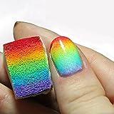 surreywhytel Generic 12pcs uñas degradado suave Esponjas Manicura para color Fade