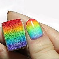 Esponjas blandas para uñas gradientes de 12 piezas Onewiller, para quitar el color de las uñas