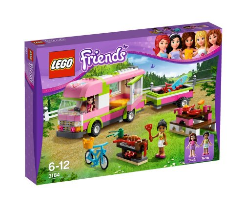 LEGO Friends - 3184 - Jeu de Construction - Le Camping-Car