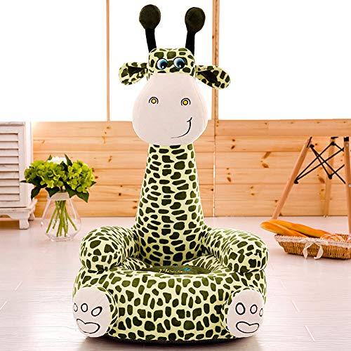 SXFYWYL Kreative Baby Sofa Sitz Giraffe Form Plüschtiere Komfortable Baby Pflege Sicher Sitzen Stuhl Geschenk Hause,C,45 * 50 * 80cm -