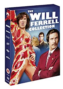 Anchorman: The Legend of Ron Burgundy / Anchorman: Wake-Up Ron Burgundy / Old School / Blades of Glory / A Night At The Roxbury / Superstar [UK Import]