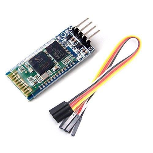 DollaTek HC-06 Wireless-4 Pins Bluetooth HF-Transceiver Serial Module 4 Satz-Kabel für Arduino Hf-transceiver