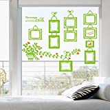 La terza generazione della nuova generazione di adesivi murali in cartone DLX501 Photo Paste (60 * 90 CM) caffè grigio scuro verde intenso, verde chiaro, Oversize