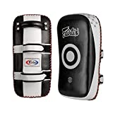 Fairtex KPLC2 Curved Adult Thai Pads Black/White