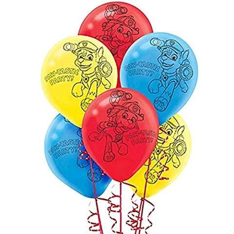 PAW Patrol Printed Latex Balloons (6) by