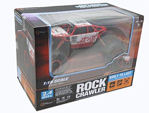 Top Race tr-1302,4GHz Batterien, Fernbedienung, Rock Crawler/Monster Truck 4WD/Off Road, Fahrzeug Spielzeug - 6