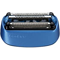Braun Pièce de Rechange 40B Bleue pour Rasoir Compatible avec les Rasoirs CoolTec