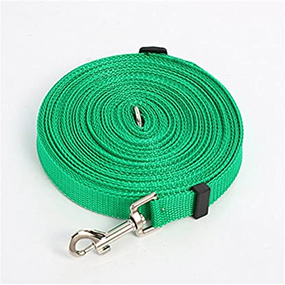 Katomi Dog Pet Puppy Training Obedience Lead Leash (1.8m*2cm, green) 1