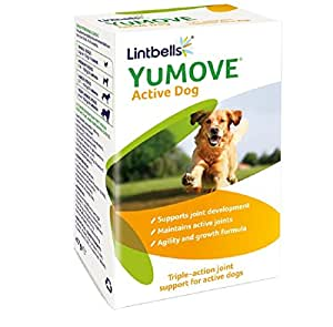 Lintbells YuMOVE Active Dog Joint Supplements (60 tablets)