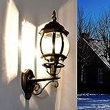 Antike Wandaußenleuchte Brest aufwärts E27 60W 230V IP23 Wandlampe Außen Hof Garten - 2