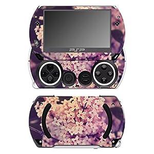 Disagu SF-14232_1062 Design Folie für Sony PSP Go – Motiv Zwergflieder 01″ transparent