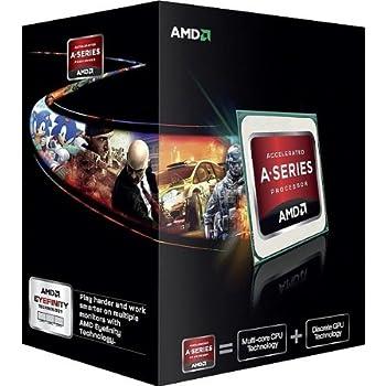 AMD A6 X2 5400K Box Processore FM2, Argento