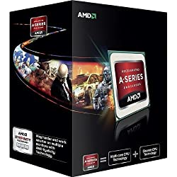 AMD A6 X2 5400K Box Processore FM2, Argento
