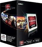 AMD A6 5400K Black Edition CPU (3.6GHZ, 1MB Cache, 2Core, HD7540D, Socket FM2, 65W, Retail Boxed)