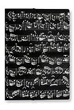 GUMMISPANNMAPPE NOTENZEILE - arrangiert für Musiker-Zubehör: Notenmappe / Orchestermappe mit Gummispanner Außenmotiv Noten [Noten / Sheetmusic]