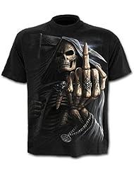 Spiral - T-shirt - Homme Noir Noir