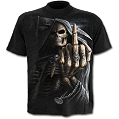 Idea Regalo - Spiral - Bone Finger (T-Shirt Uomo L)