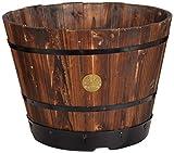 VegTrug WPB40046cm Planter in Legno Quercia invecchiata barile-Marrone