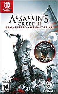 Assassin's Creed III: Remastered - Nintendo Switch (B07NQG61K8) | Amazon Products