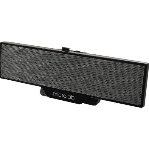 Microlab Aktivbox B51 2.0 PC-Lautsprecher schwarz
