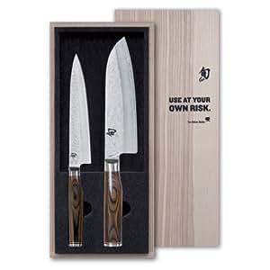 KAI Küchenmesser SHUN PREMIER Tim Mälzer Serie Messerset TDM-1701 + TDM-1702, TDMS-230