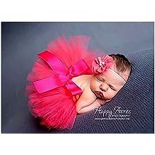 TININNA bambino Fotografia Prop Newborn ragazze Tutu Vestito skirt Suit Fascia Hairband Impostato Rosso