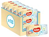 Huggies Pure Baby Wipes - 18 Packs (1008 Wipes Total) - Huggies - amazon.co.uk