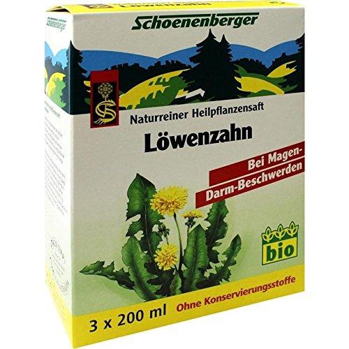 Löwenzahn Saft Schoenenbe 3X200 ml