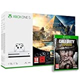 Pack Xbox One S 1 To Assassin's Creed Origins + Rainbow Six : Siege + Call of Duty : World War II