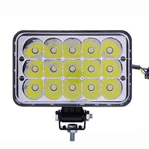 ZHAS 45 W LED-Arbeitsscheinwerfer graben Maschinenleuchten engineering Lichter auto Arbeitsscheinwerfer auto Nebelscheinwerfer ändern - Led-leuchten Utility-anhänger