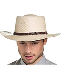 Socks Uwear Mens Foldable Straw Style Hat with Plaited Leather Band Summer Sun Hat
