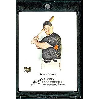 2008 Topps Allen and Ginter # 198 Steve Holm RC ( San Francisco Giants ) MLB Baseball Card in