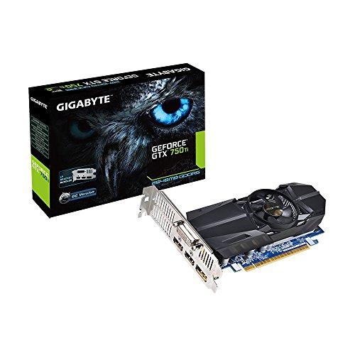 2gb Gtx750ti Gigabyte Oc Edition Nvidia - Low Profile Card - For Workstation / Servers (2gb Gddr5, Base 1033mhz / Boost 1111mhz, 128bit, 640 Cuda Cores)