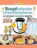 Rezeptkalender & Familienplaner 2018