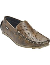Kolapuri Centre Brown Color Casual Slip On Shoe For Men's - B075MDX2MN