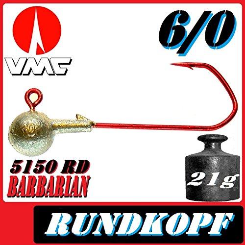 VMC Barbarian Jig 5150RD 3unidades 6/021g segunda mano  Se entrega en toda España