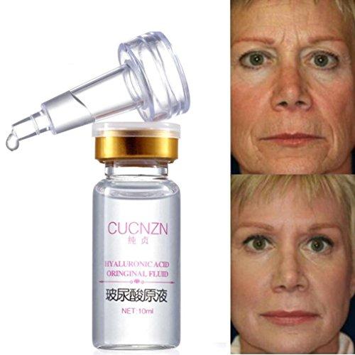 samLIKE 100% natürliches PureFirming Kollagen starkes Antifalten Hyaluronsäure Serum neu (Weiß)