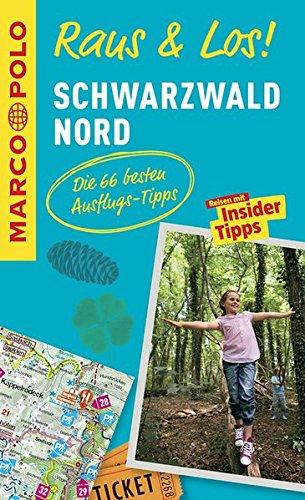 Preisvergleich Produktbild MARCO POLO Raus & Los! Schwarzwald Nord: Guide und große Erlebnis-Karte in praktischer Schutzhülle